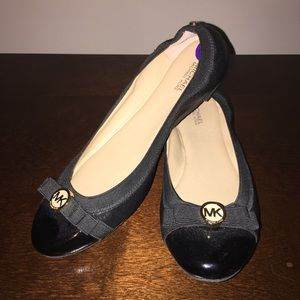 Michael Kors Black Flats 8.5
